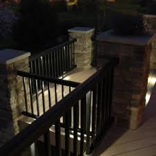 Solar Powered Deck Lights Simple Front Porch Ideas With White Solar Power Pinup Deck