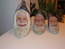 Antique Christmas Decorations Santa Claus by 29 Best Antique German Santa Lanterns Images On Pinterest