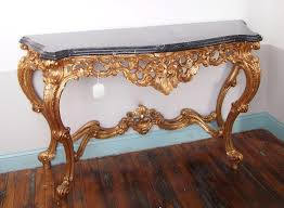 Gold Console Table Gold Console Table Marble Top Luxurious Gold Console Table