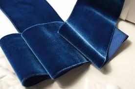 velvet ribbon royal blue wide velvet ribbon 72mm