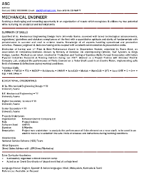 resume format for engineering freshers docusign membership what is the best resume title for mechanical engineer fresher quora
