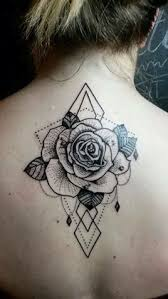 70 gorgeous rose tattoos that put all others to shame geometric