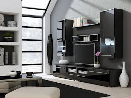 living room design with tv living wall modern unit for including