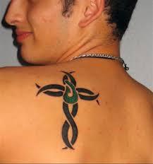 22 beautiful tribal cross tattoos only tribal