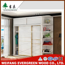 wooden wardrobe with dressing table designs for bedroom indian