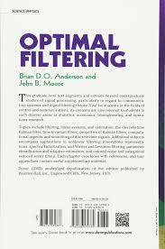 optimal filtering dover books on electrical engineering brian