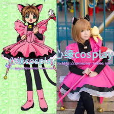 Bell Halloween Costume Wholesale Sakura Card Captor Cosplay Costume Cat Cute