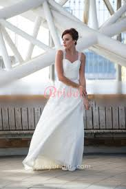 floor length a line ivory sweetheart lace wedding dress with tulle