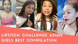 Challenge Asian Lipstick Challenge Asian Best Compilation