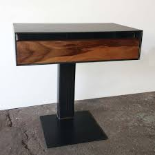 furniture minimalist style white nightstands ideas with glass