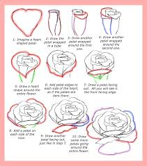 how to draw roses happy family art