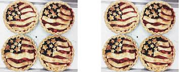 American Flag Pie Recipe Pie U0026 The 4th Of July U2014 Tiny Pies