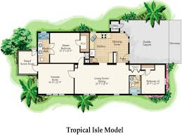 plans design tropical house plan two storey designs and floor beac
