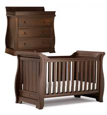 Sleigh Cot Bed Boori Sleigh Cot Bed U0026 Dresser English Oak Babycare Of Dagenham