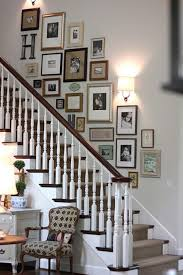 Ideas To Decorate Staircase Wall Staircase Wall Decorating Ideas Eclectic Staircase Other