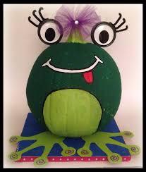 frog painted pumpkin craft ideas pinterest