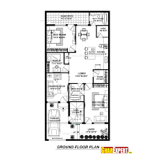 house plan for 30 feet by 60 feet plot plot size 200 square yards