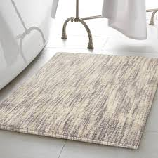Rugs For Bathroom Bathroom Reversible Cotton Slub Bath Rug Cotton Towel Bath Mat