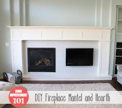 Make A Fireplace Mantel by Building Our Fireplace The Diy Mantel Our Diy House Diy Fireplace