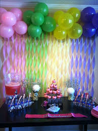 how to make birthday decoration at home balloon ideas backdrop decoration photo it s childish and silly i