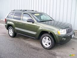 light green jeep cherokee 2006 jeep green metallic jeep grand cherokee limited 4x4 1684705