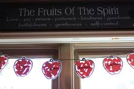 Fruit Of The Spirit Crafts For Kids - apple garland the fruit of the spirit i can teach my child