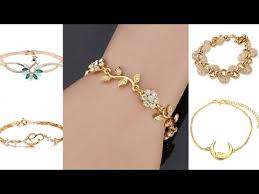 ladies bracelet design images Gold bracelets for women stylish bracelet designs jpg