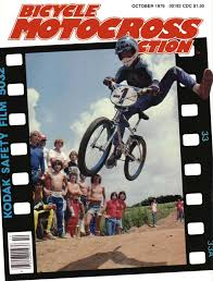motocross action bicycle motocross action october 1979 the least most