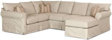 custom made sectional slipcovers with attached cushions havens