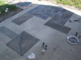 Faux Painted Floors - best 25 painted cement patio ideas on pinterest painted