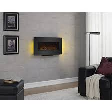 Electric Wallmount Fireplace Duraflame Curved Front Electric Wall Mount Fireplace Bj U0027s