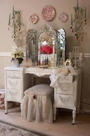 Antique White Vanity Set Bedroom Captivating Furniture For Bedroom Decoration Using