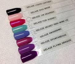 china glaze gelaze flying dragon swatch nail colors pinterest