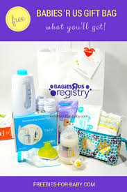 wedding registry free gifts free babies r us registry gift bag what you ll get