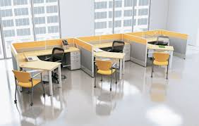 Used Office Furniture In Charlotte Nc by Fascinating 70 Modern Office Cubicle Decorating Design Of Floor