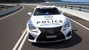 rcf lexus 2016 lexus rc f sports coupe is your weird cop car du jour roadshow
