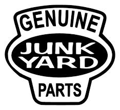 car junkyard malaysia genuine junk yard parts fun unique vinyl graphic decal car window