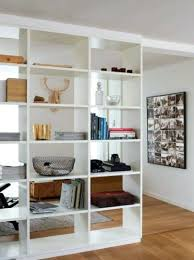 White Room Divider - bookcase room divider bookcase white gallery of 17 best ideas