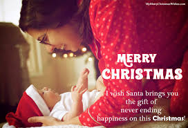 sweet merry christmas wishes for kids daughter son from father mother