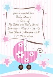 printable baby shower invitations free templates images