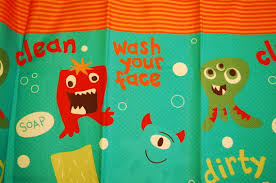 Kids Bathroom Shower Curtain Kid Shower Curtains 70