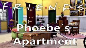 the sims 4 friends phoebe s apartment youtube