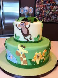 jungle baby shower cakes safari themed baby shower cakes party xyz