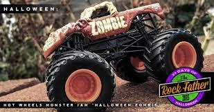 wheels monster truck jam 31 days of halloween wheels monster jam zombie halloween edition