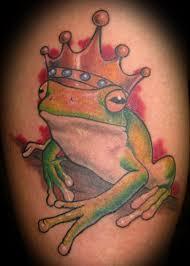 3d feminine family tree frog tattoos