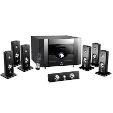 samsung 7 1 home theater pyle 7 1 channel home theater system with satellite speakers