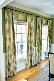 Curtains For Dining Room Green Living Room Curtains Green Living Room Curtains Room