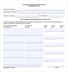 sba gov business plan template 5 child care plan templates free
