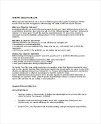 Career Goal Examples For Resume by Download General Objectives For Resumes Haadyaooverbayresort Com