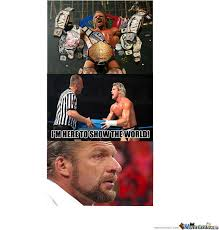 Triple H Memes - sad triple h by whatsmypassword meme center
